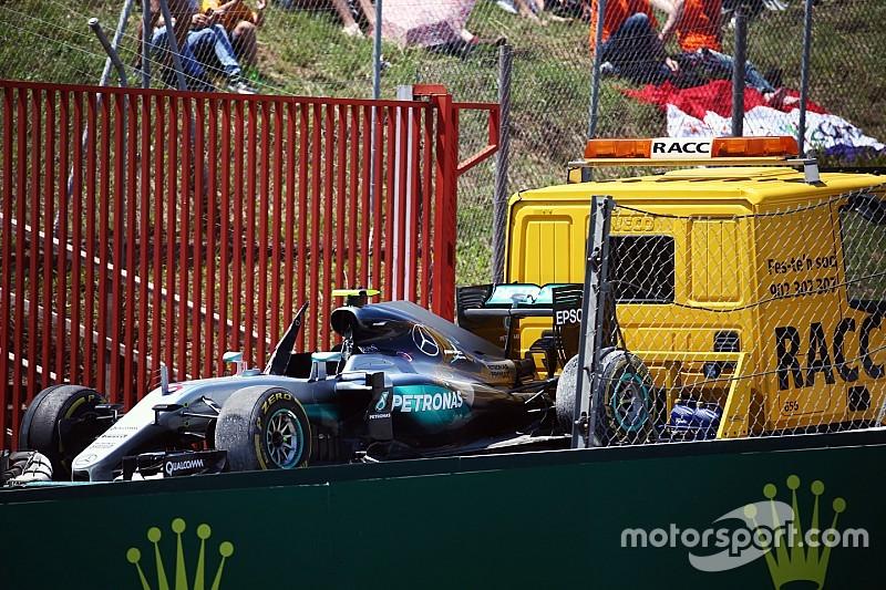 "Alain Prost: Barcelona-Crash Hamilton/Rosberg ""ein Rennunfall"""