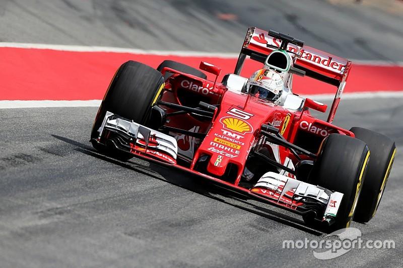 Barcelona F1-test: Snelste tijd voor Vettel op eerste dag