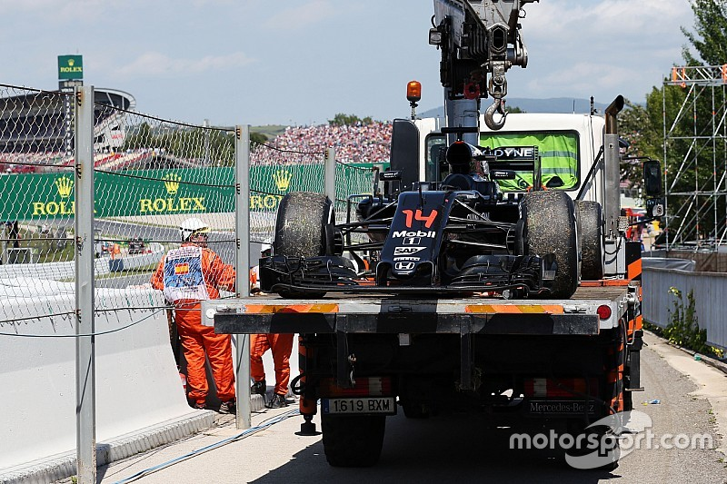 McLaren-Honda achterhaalt oorzaak van DNF Alonso in Spanje