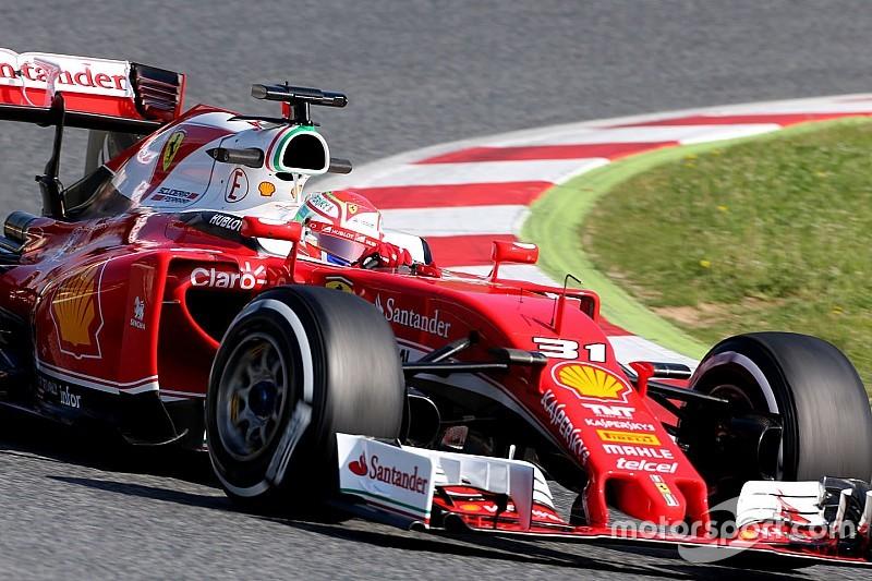 Ferrari centrado en mejorar el uso de las presiones