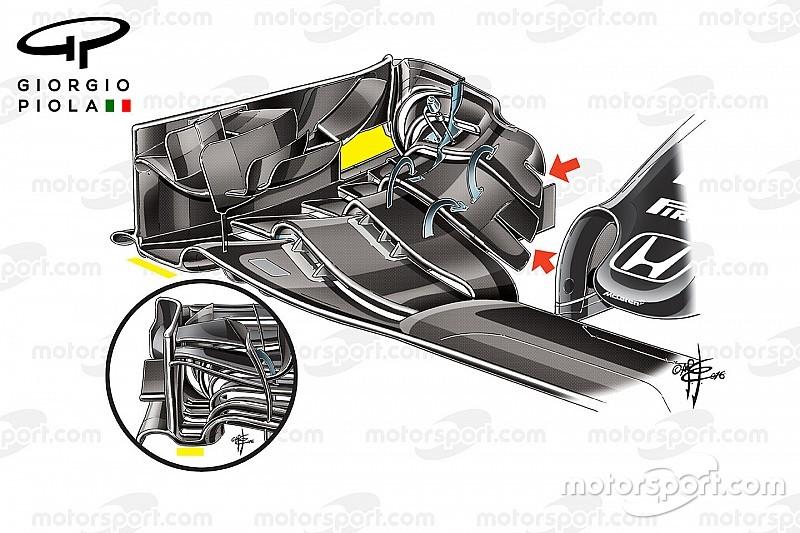 【F1メカ解説】マクラーレン・ホンダのスペインGPアップデート