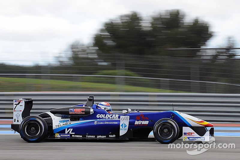 Diego Menchaca saldrá tercero en la primera carrera en Spa
