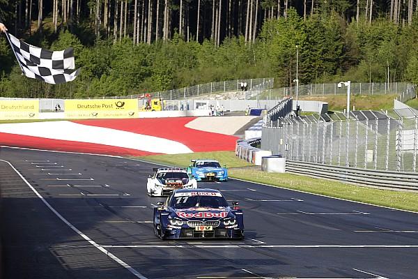 Spielberg DTM: Wittmann, Blomqvist'in önünde ilk yarışını kazandı
