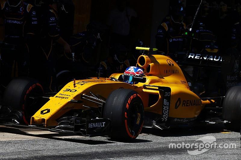 Pressione delle gomme: la Renault non è soddisfatta della situazione
