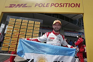 "WTCC Crónica de Clasificación Pole con récord para ""Pechito"" López en Nurburgring"