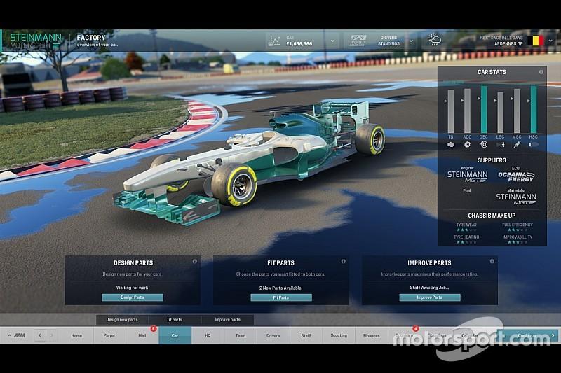 Motorsport Manager: Stuur je eigen F1-team aan
