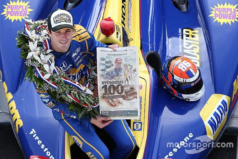 Анализ: как Росси выиграл свою дебютную Indy 500