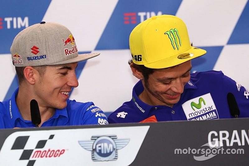 """Viñales: """"A Rossi hay que saberle llevar"""""""
