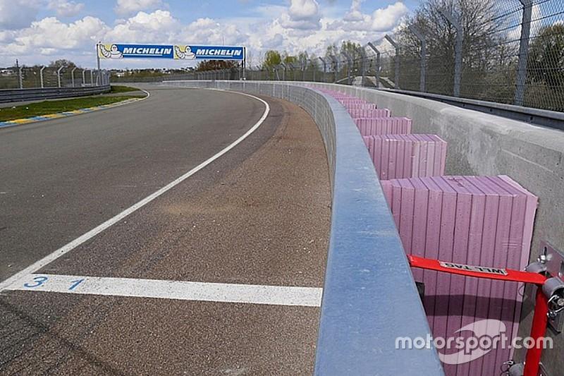 Le Mans albergará el debut de la barrera SAFER