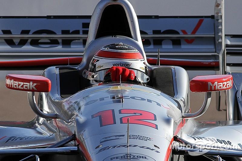 Power domineert eerste IndyCar-training Detroit
