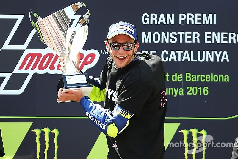 Росси вырвал победу у Маркеса в Каталонии