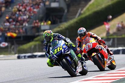 Rossi domina a Márquez en Catalunya