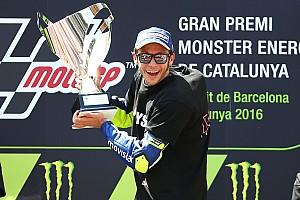 MotoGP加泰罗尼亚站: 罗西击败马奎兹洛伦佐摔车退赛