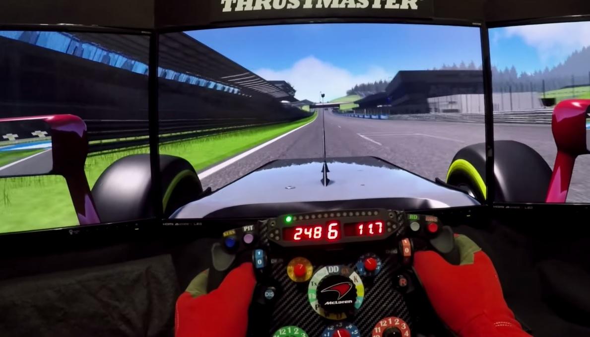 Fullos szimulátoros pályabejárás a Red Bull Ringen: Assetto Corsa