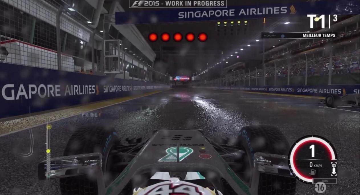 Kiszivárgott egy onboard játékmenet videó az F1 2015-ről! Ilyen a fizika!