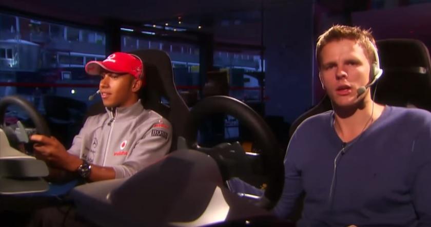 Lewis Hamilton a Codemasters hivatalos F1-es játékával