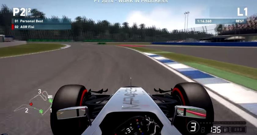 F1 2014: Egy videón az összes F1-es autó mozgás közben