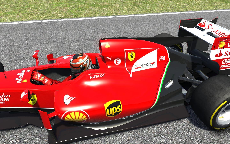 F1 2014 (AC): Ferrari F14-T a Red Bull Ringen