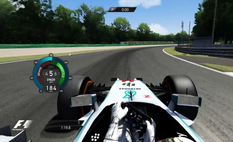 Assetto Corsa: F1 2014 a játékban – Mercedes, Hamilton, Monza