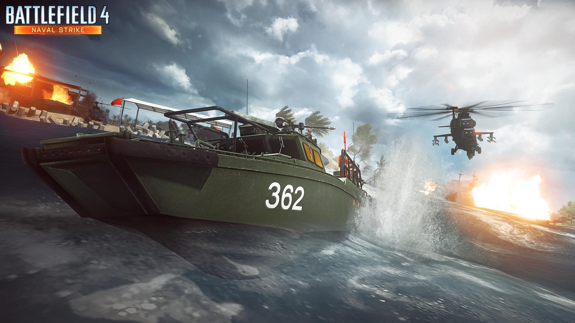 Battlefield 4: Naval Strike – érkezik az új pakk