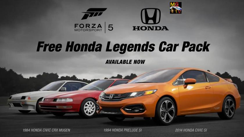 Forza Motorsport 5: Hondák érkeztek a játékhoz