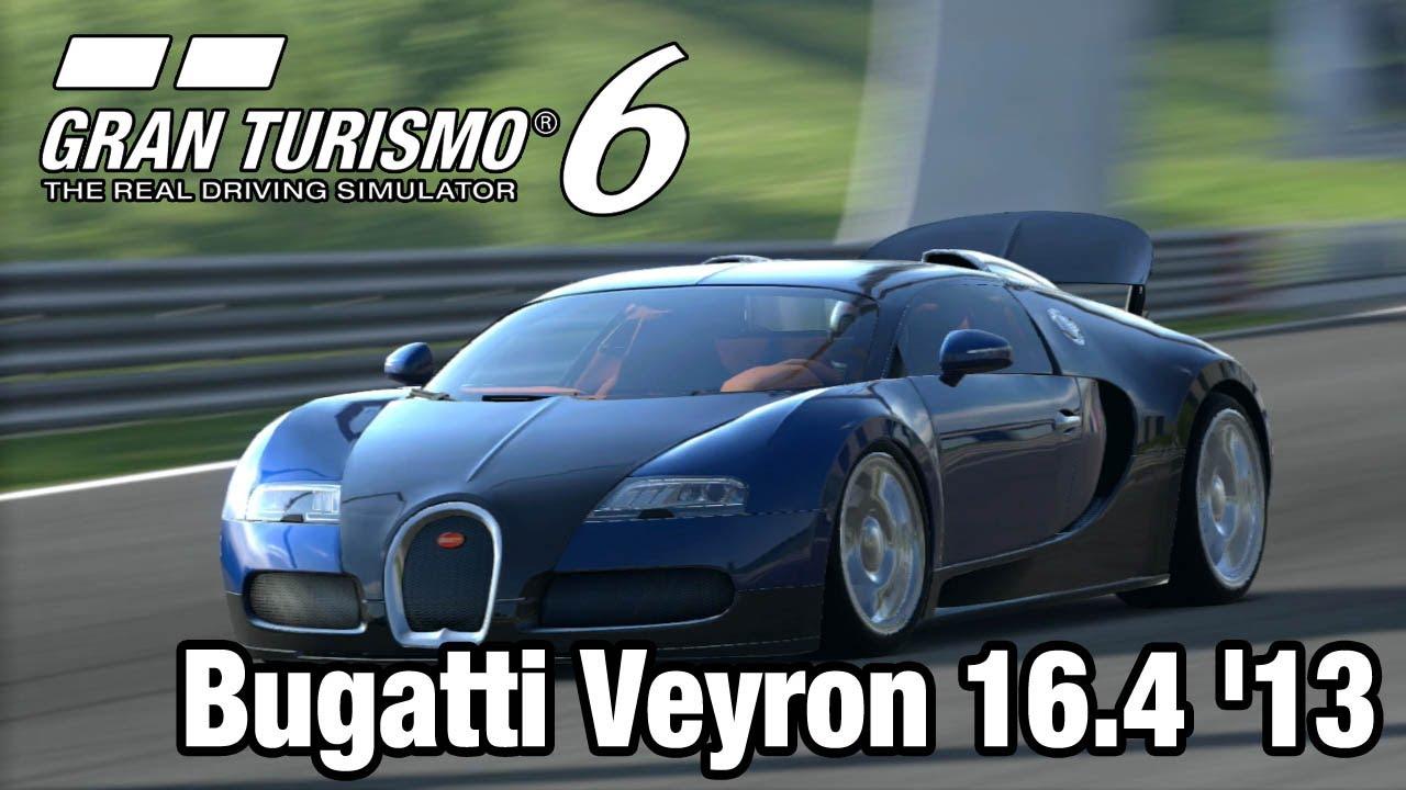 Gran Turismo 6: Egy élethű száguldás a nagy esőben – Bugatti Veyron '13