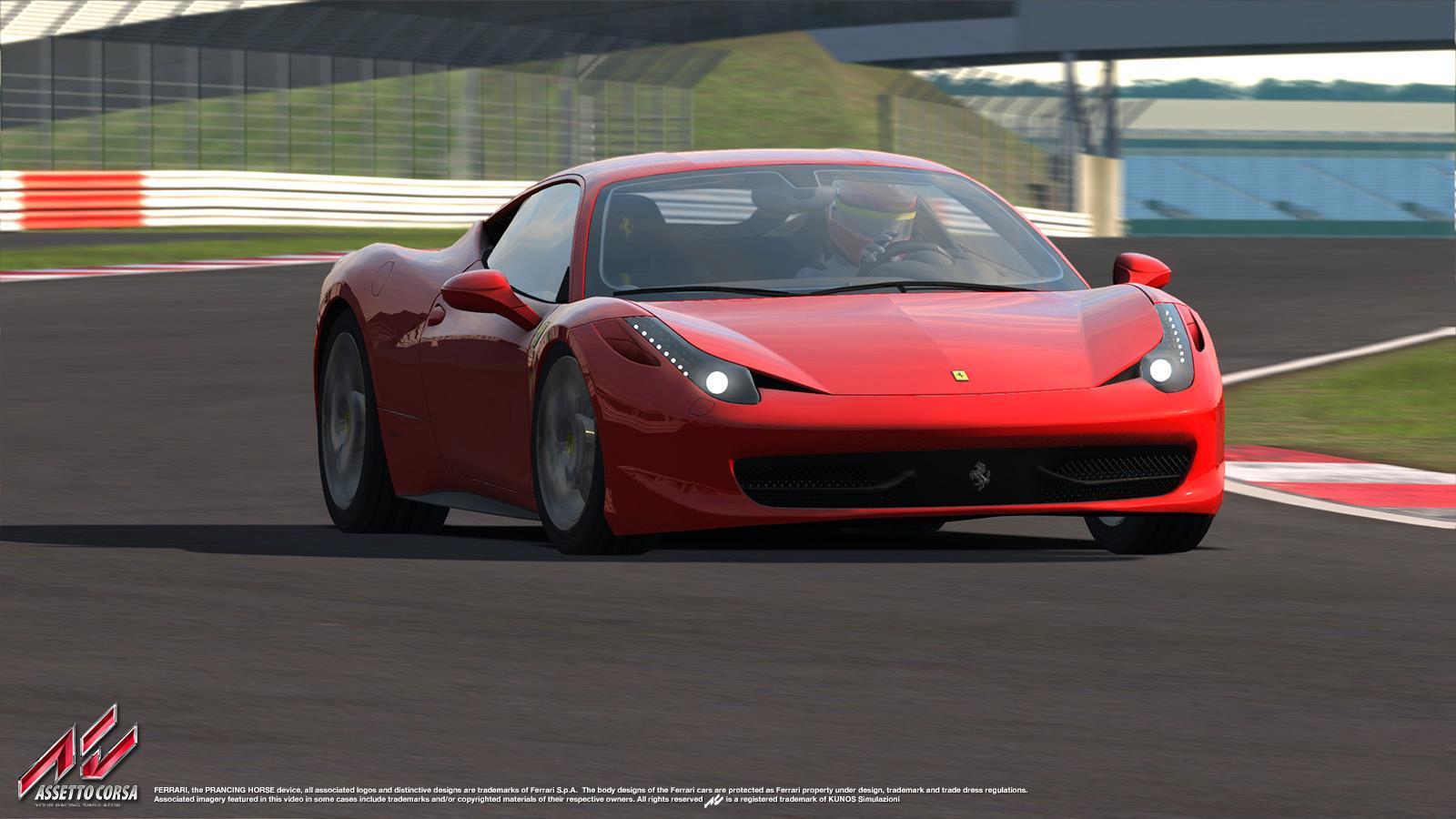 Assetto Corsa: Szenzációs felvételek a játékból – Ferrari 458 Italia