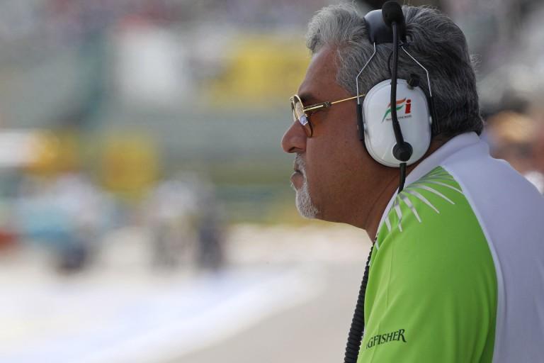 Mallya bűnlajstroma mit jelent a Force India számára?