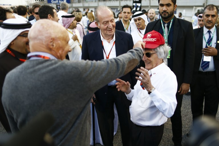 Habár a Forma-1-ben semmiben sincs egyetértés, talán Niki Lauda lehet Ecclestone egyik utódja?!