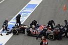 A Toro Rosso Mercedes magasságokba ért