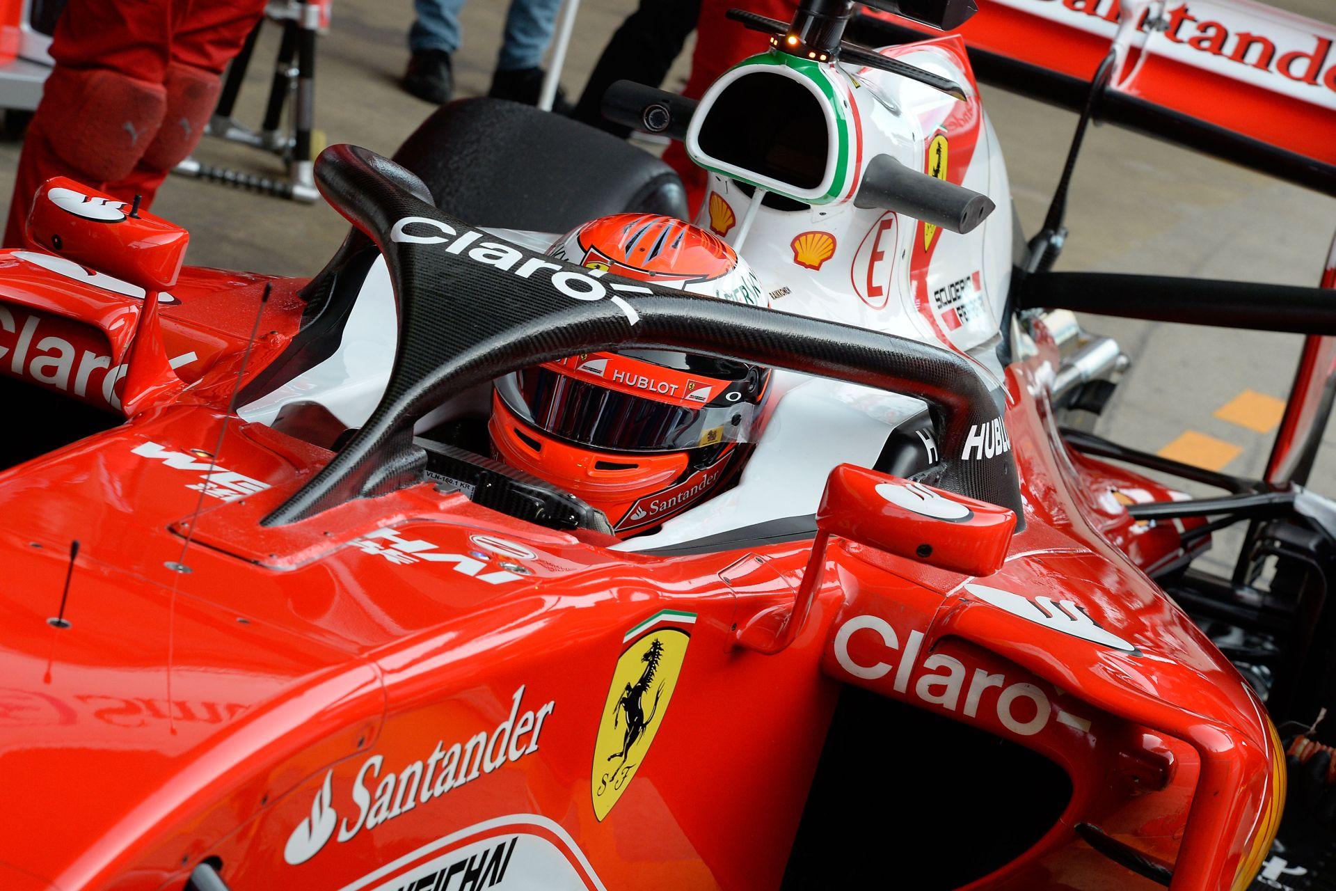 Ricciardo beszólt Hülkenbergnek a halo miatt