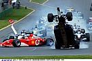 Ralf Schumacher hatalmas bukása: levegőben a Williams-BMW