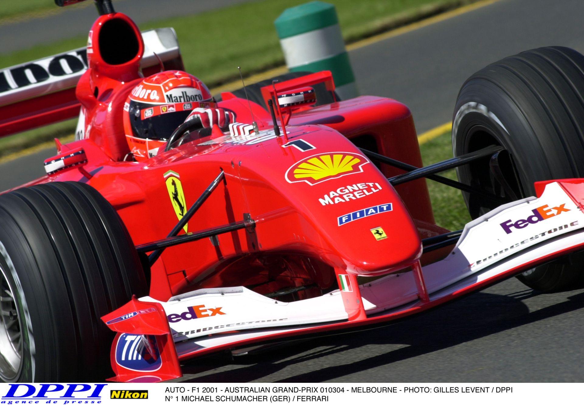 Schumacher komoly borulása az Ausztrál Nagydíjról: ebből nagy baj is lehetett volna