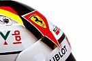 Fotókon Vettel idei sisakja: színben passzol hozzá az SF16-H is