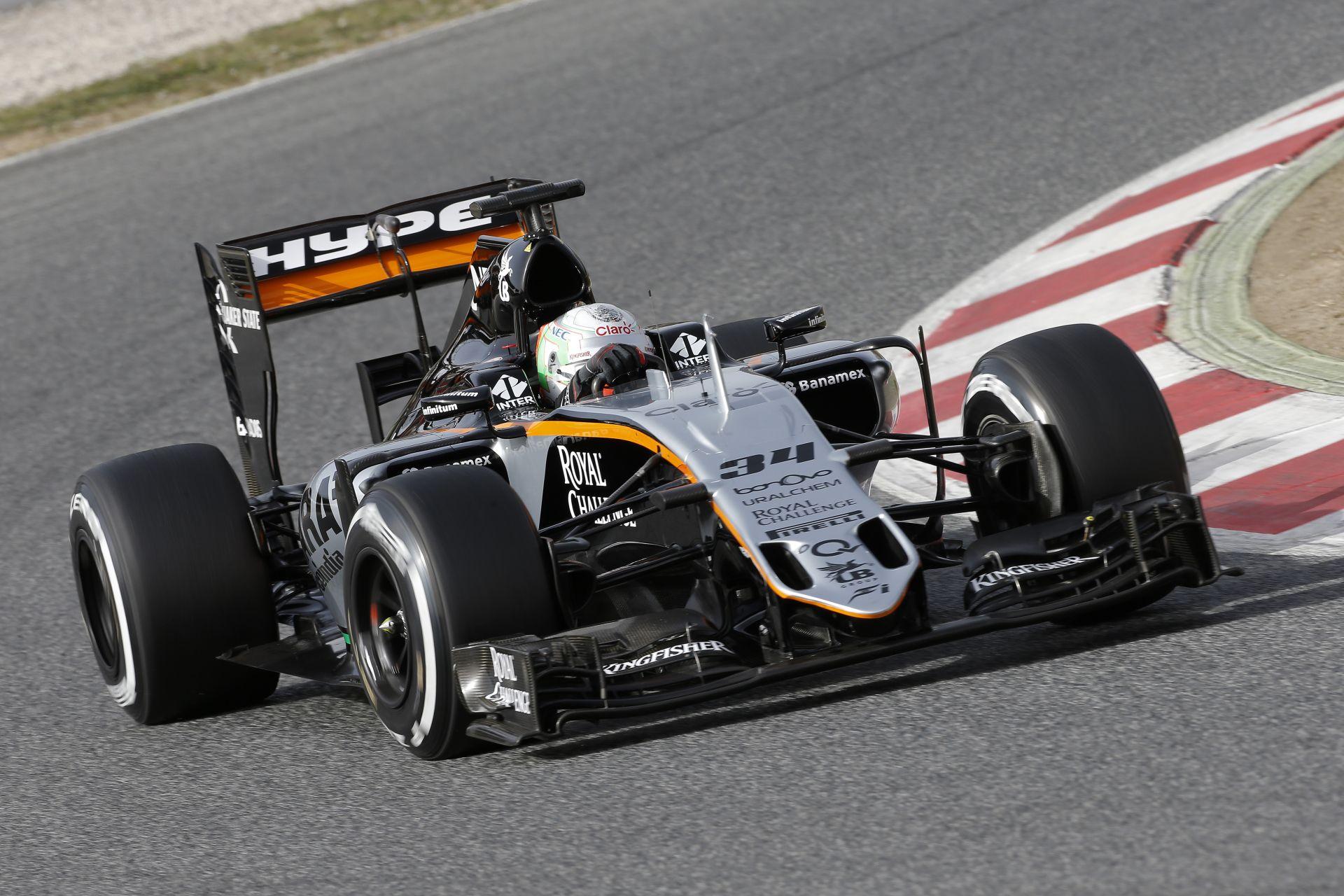 A Force India elégedettebb a 19 éves újoncával, mint Perezzel és Hülkenberggel?!