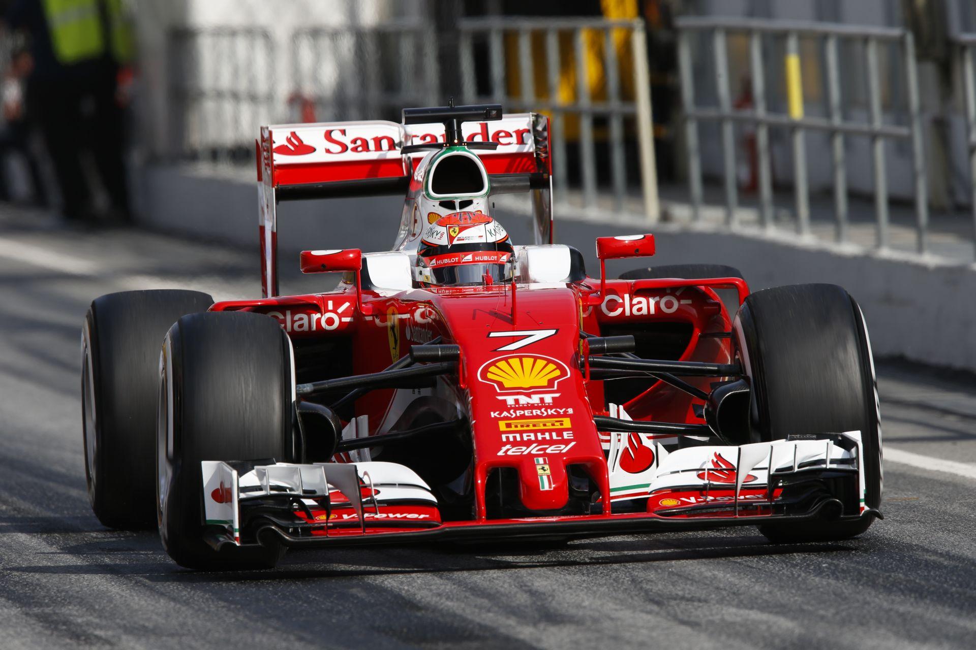 Hülkenberg nyerte a harmadik tesztnapot Barcelonában a Haas és Raikkönen előtt: megkotlott a McLaren