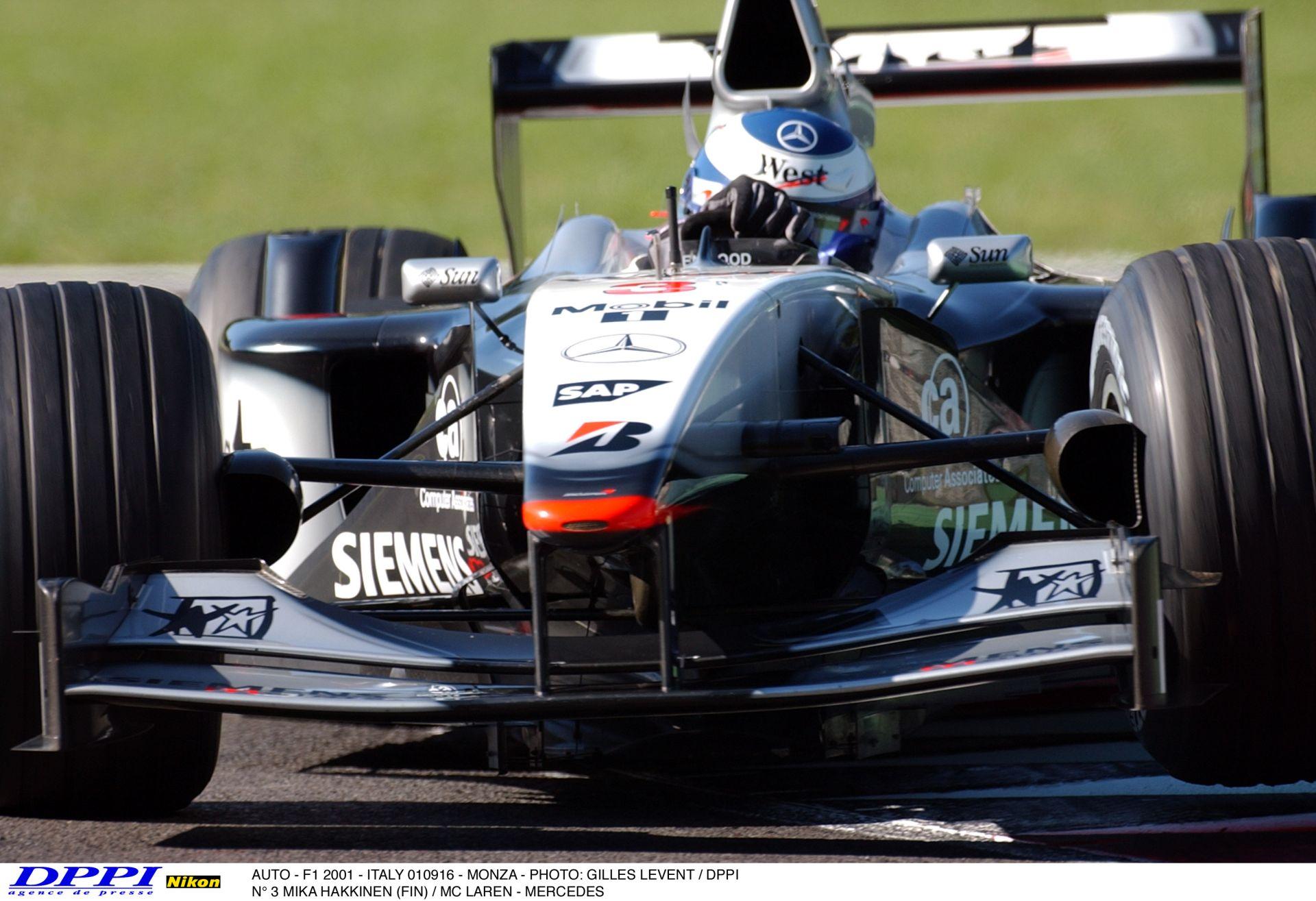 Schumacher legnagyobb ellenfele: Mika Hakkinen