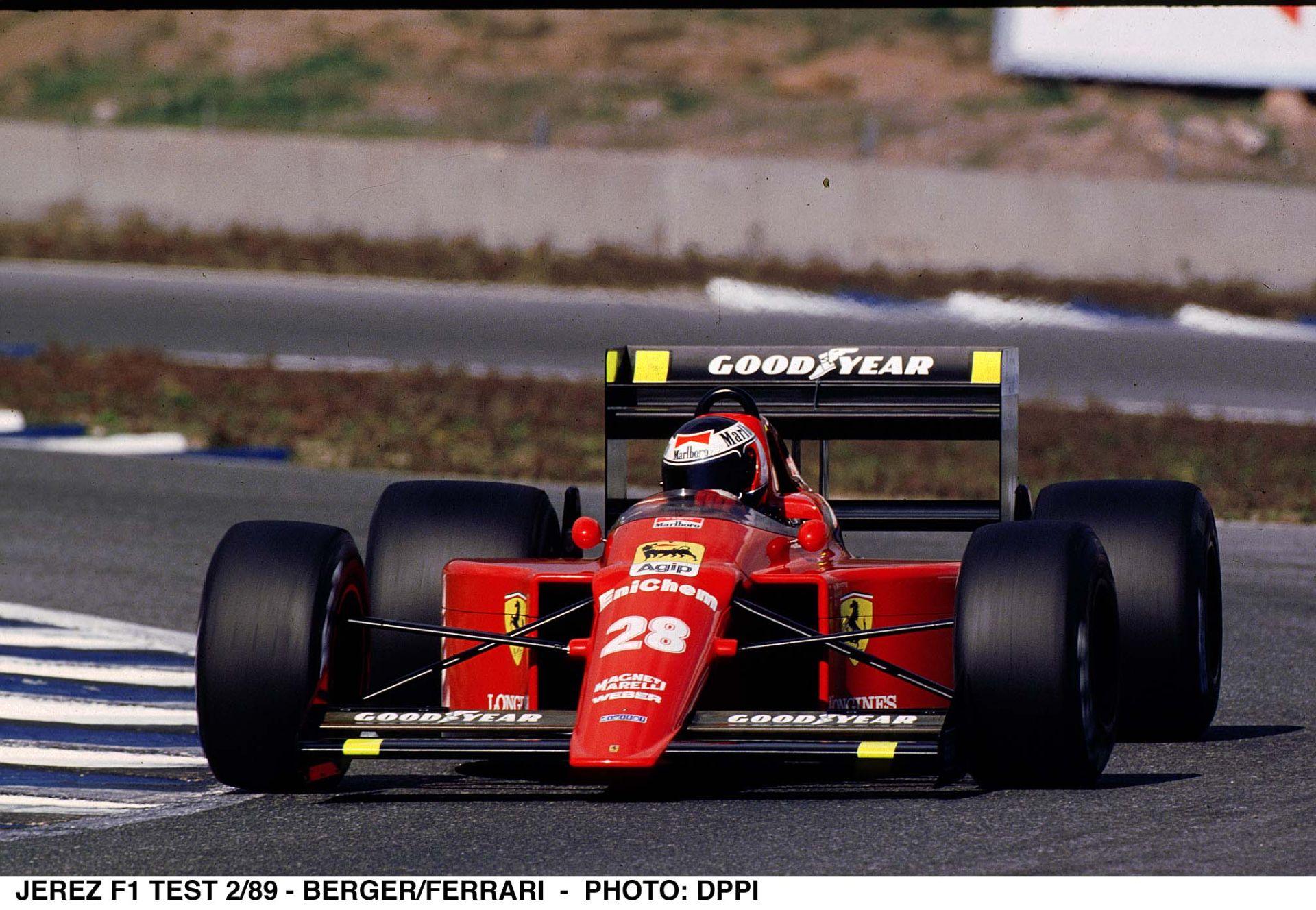 Egy 1 óra 40 perces onboard videó Bergerrel, ahogy megnyeri a Ferrarival a Portugál Nagydíjat
