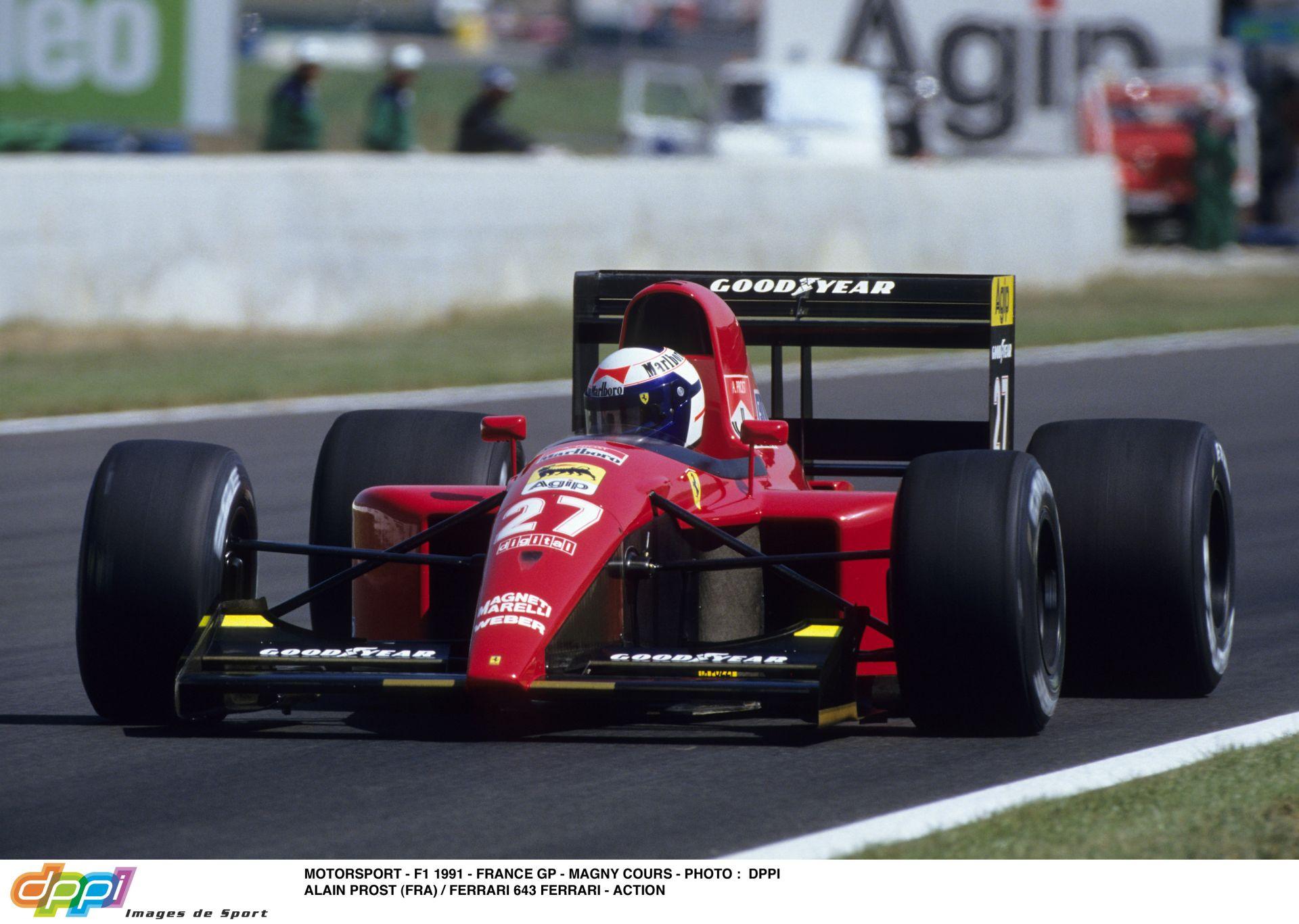 Amikor még nehéz volt vezetni egy F1-es gépet: Prost az 1991-es Ferrarival