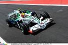 Barrichello nyomja neki a Hondával Interlagosban: 2008