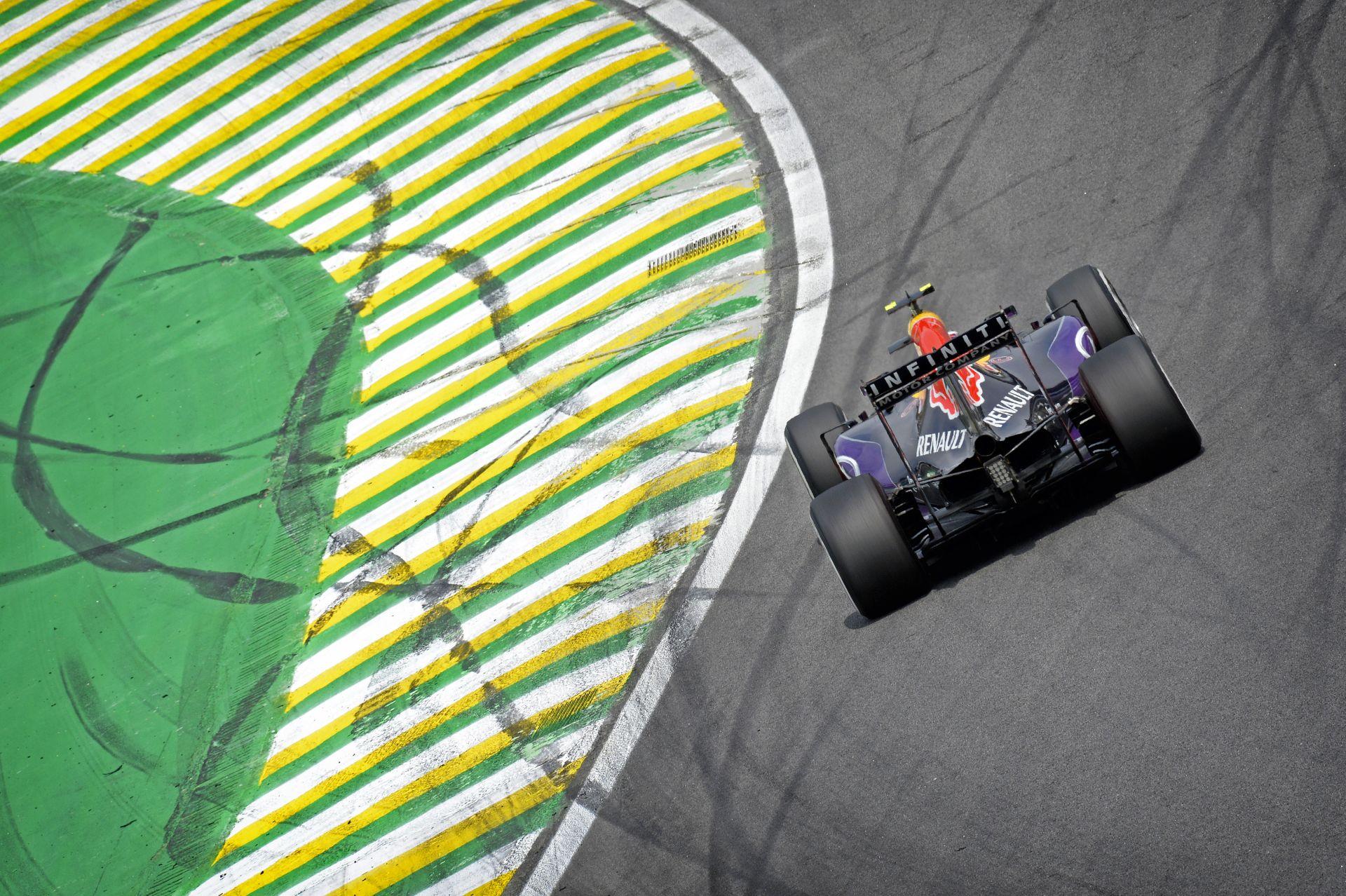 Kvyat és Ricciardo sem tudott ma varázsolni Brazíliában...