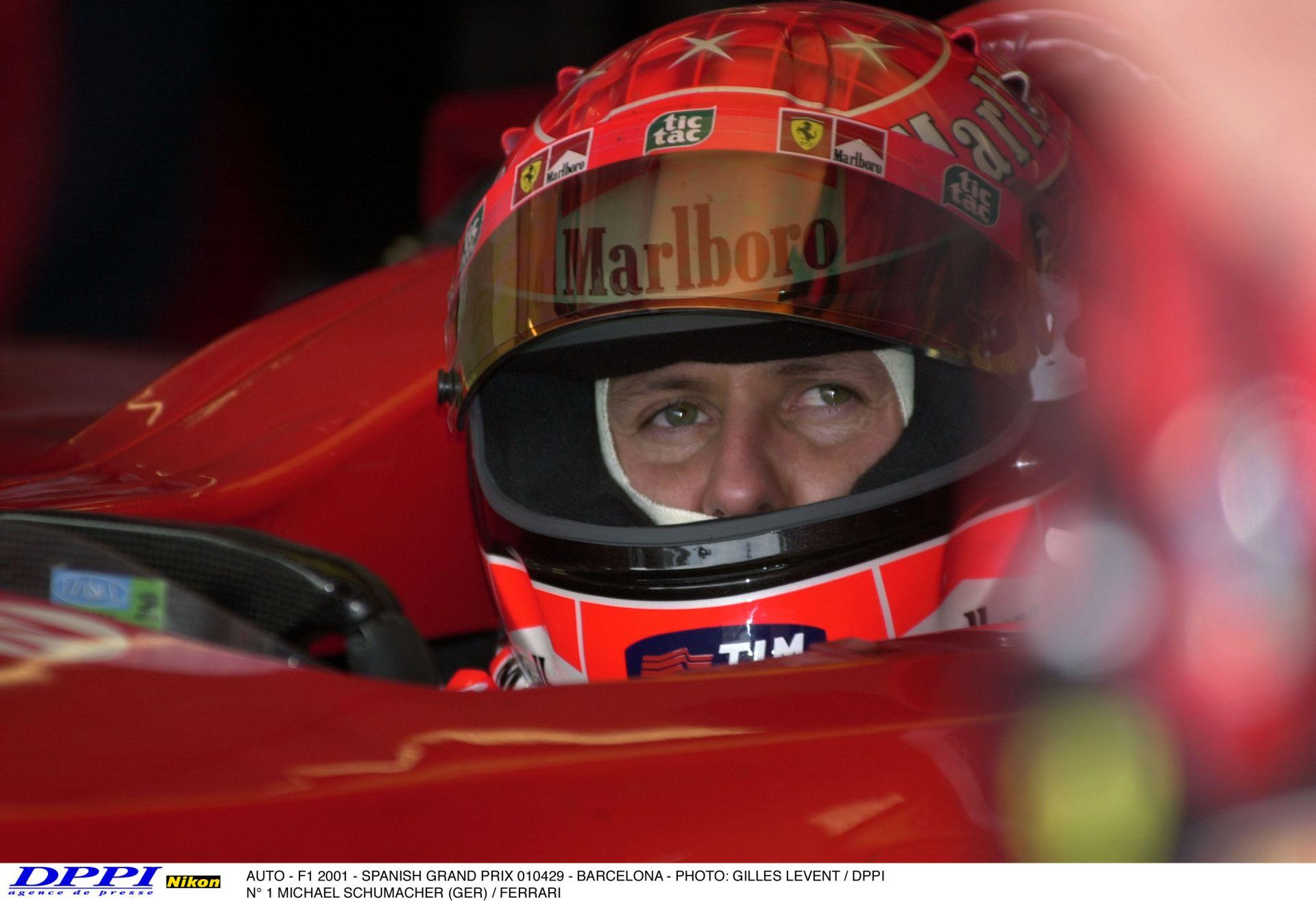 Nehéz rá szavakat találni: Schumacher őszinte bocsánatkérése Hakkinen kiesése miatt