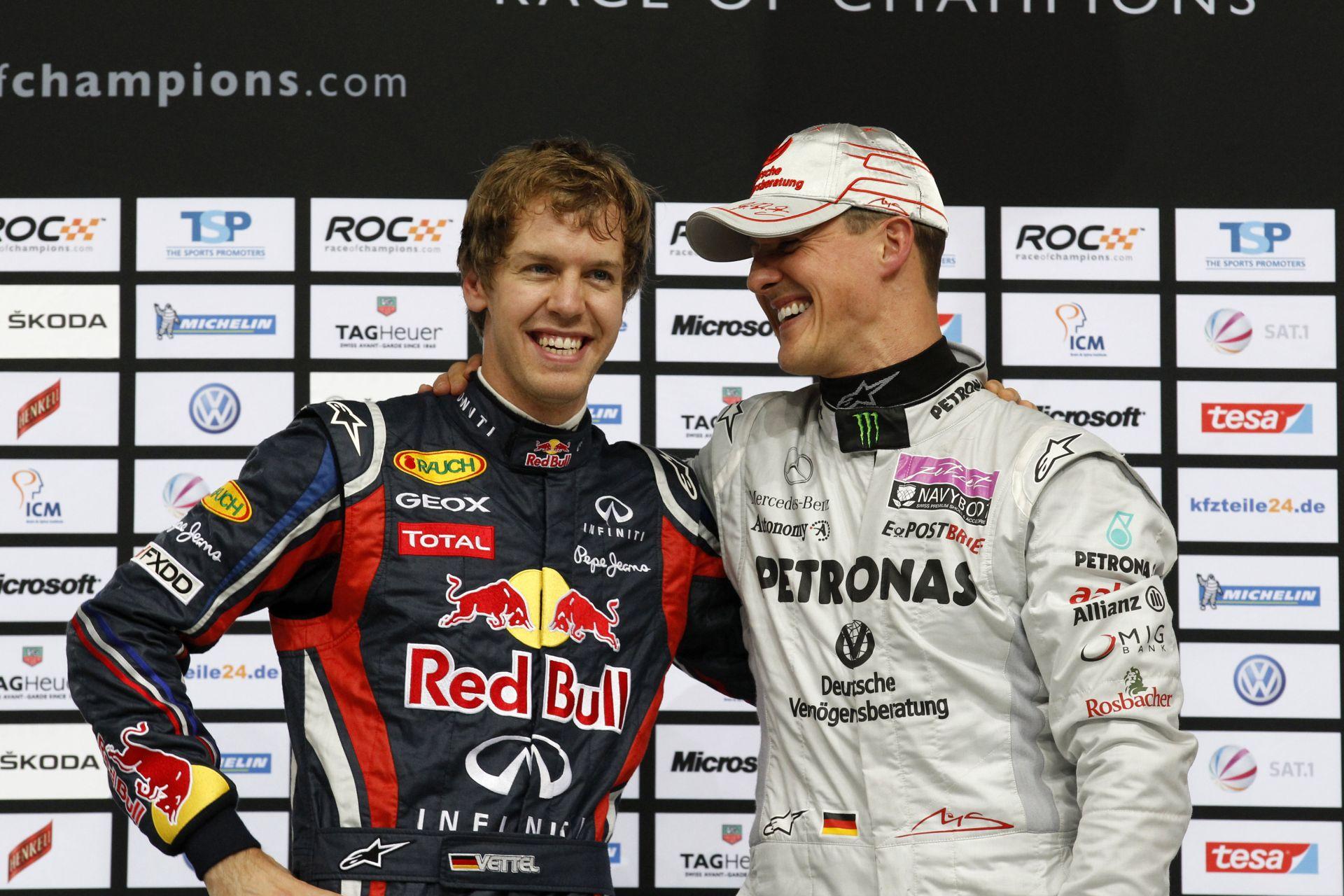 Schumacher nélkül már a Bajnokok Tornája sem az igazi: Vettel idővel az utódja lehet