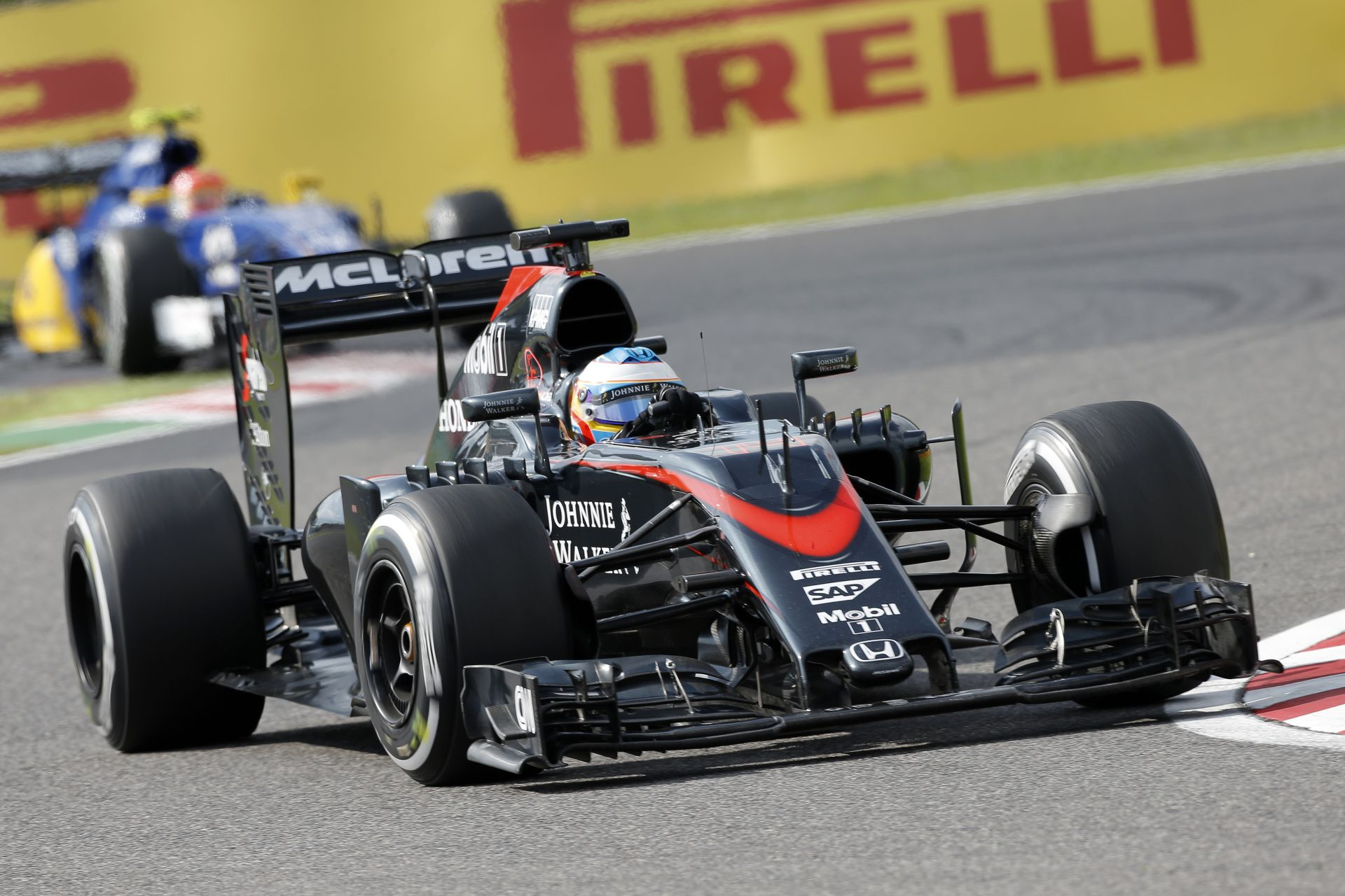 Alonso Q2-es köre a McLaren-Hondával Suzukában