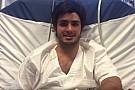Videós üzenet Carlos Sainz Jr-től az oroszországi kórházból: magyarra fordítva