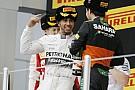 Egy F1-es dobogó, ami örökre beleégett a retinánkba: Hamilton-Vettel-Pérez