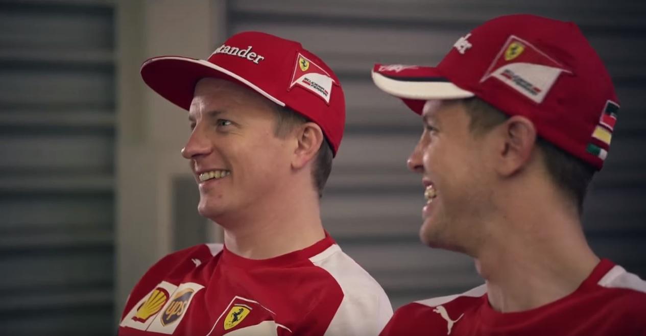 Óriási: Raikkönen és Vettel spanyolul tanul! Az év egyik legjobb videója!