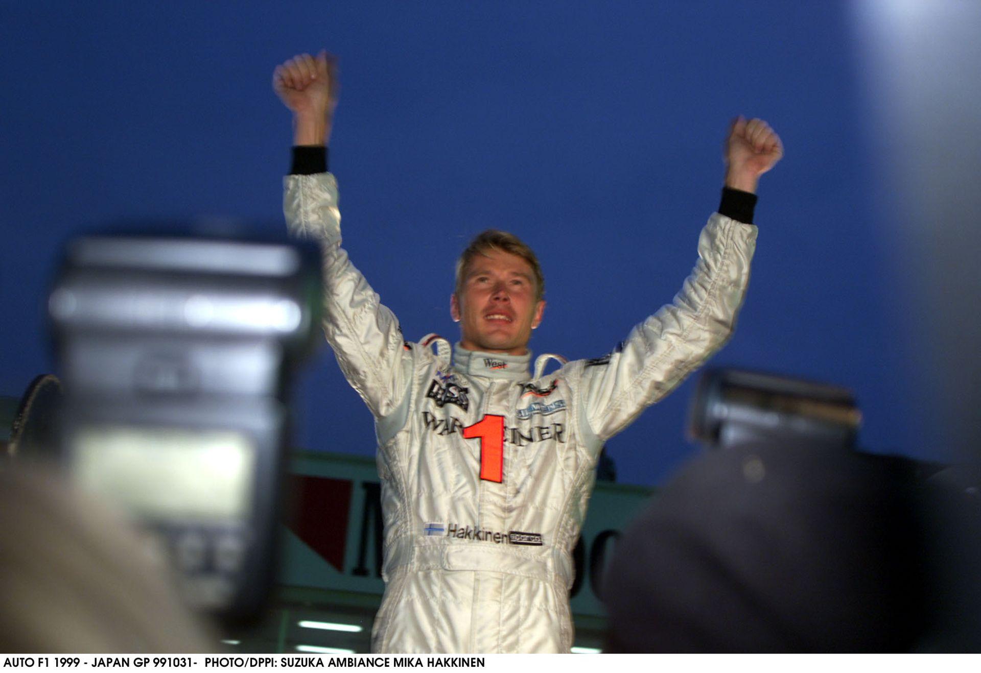 Mika Hakkinen 1999-ben ezen a napon lett kétszeres világbajnok a Forma-1-ben a McLarennel