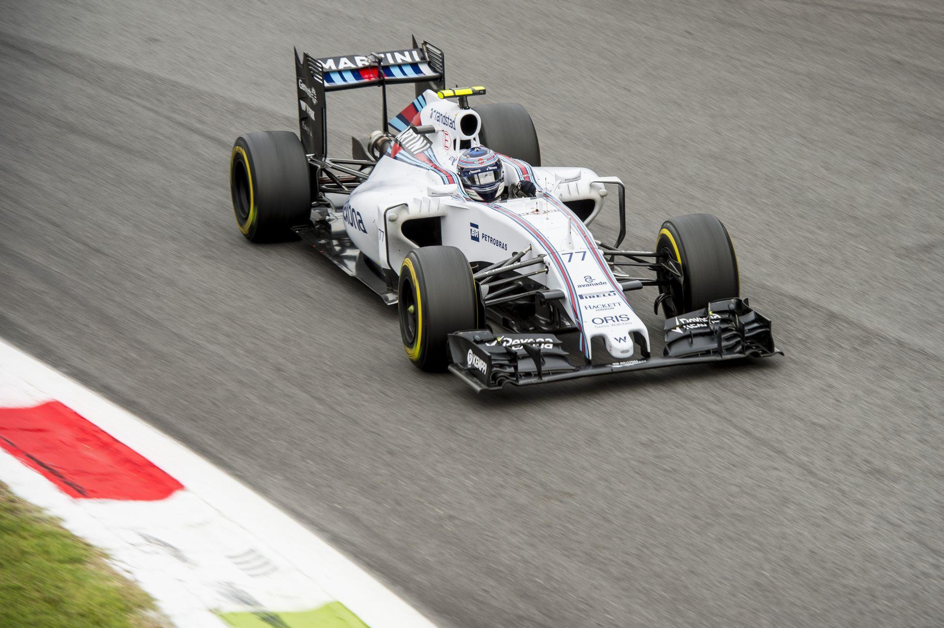 A Williams az Olasz Nagydíjon a dobogón tartja a szemét - a Ferrari ma elérhetetlen volt