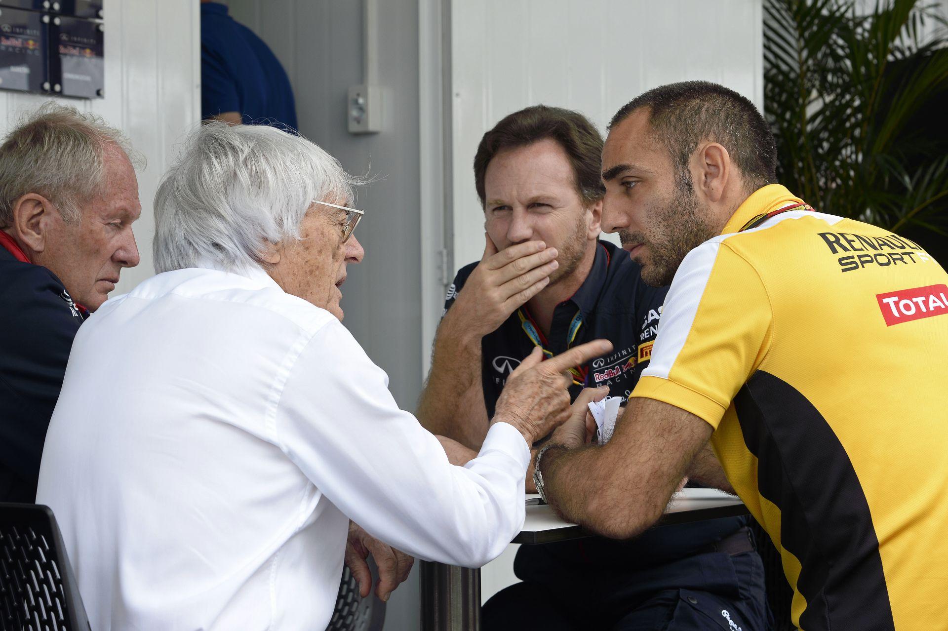 Ecclestone személyesen jár el a Renault ügyében: nem akar újabb válságot az F1-ben
